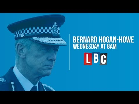 Commissioner Bernard Hogan-Howe: Live On LBC