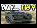 ► 1 VS 9 - OMG, STRV 103B! - World of Tanks STRV 103B Gameplay