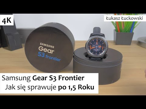 Samsung Gear S3 Frontier Jak się sprawuje po 1,5 roku | Opinia