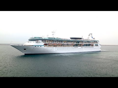 Vision of the Seas Sailaway from Dubai