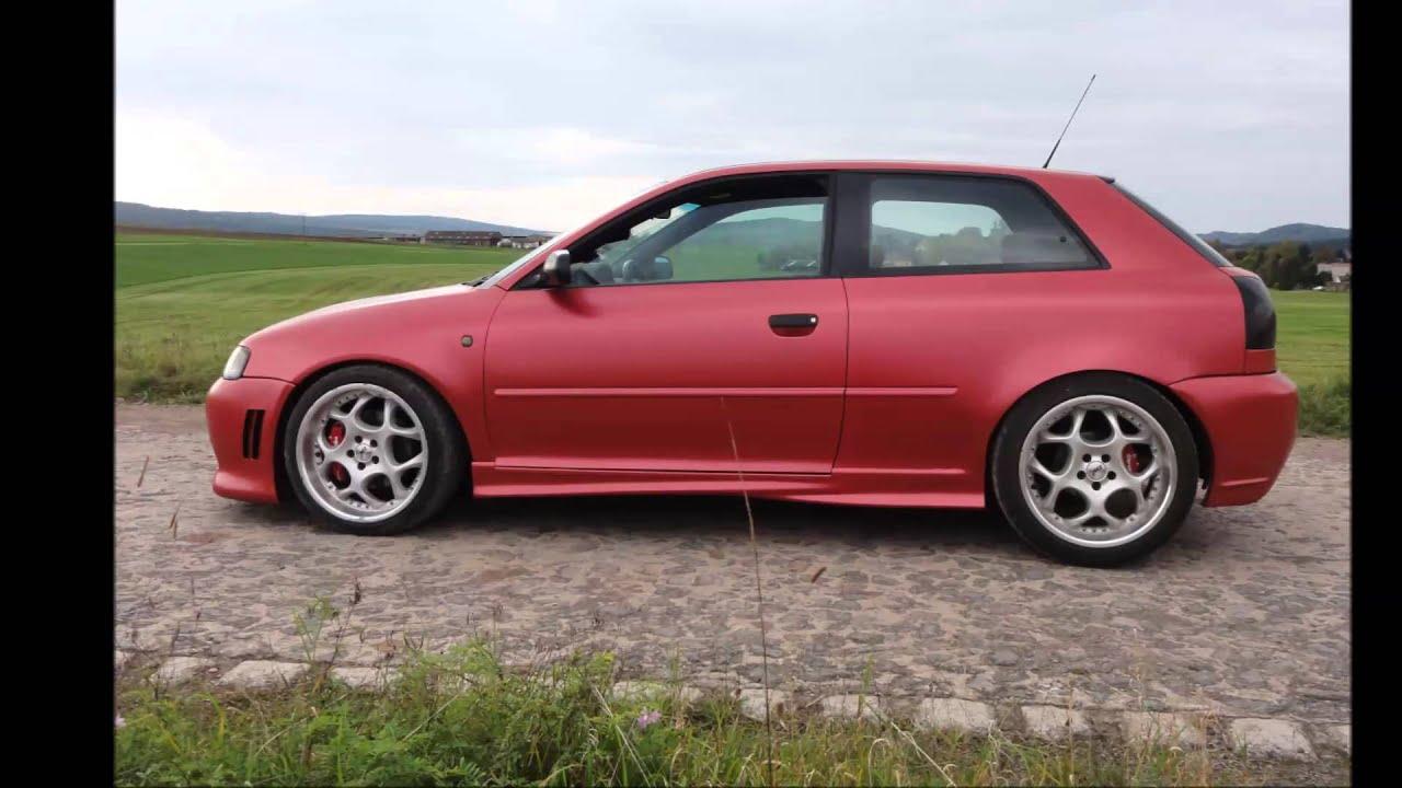 ProDipCars.cz: Audi A3 1.8T - Radiant Red Custom - YouTube