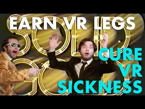 Cure Motion Sickness in Virtual Reality - How to get your VR legs fast! (Mervils Winners)