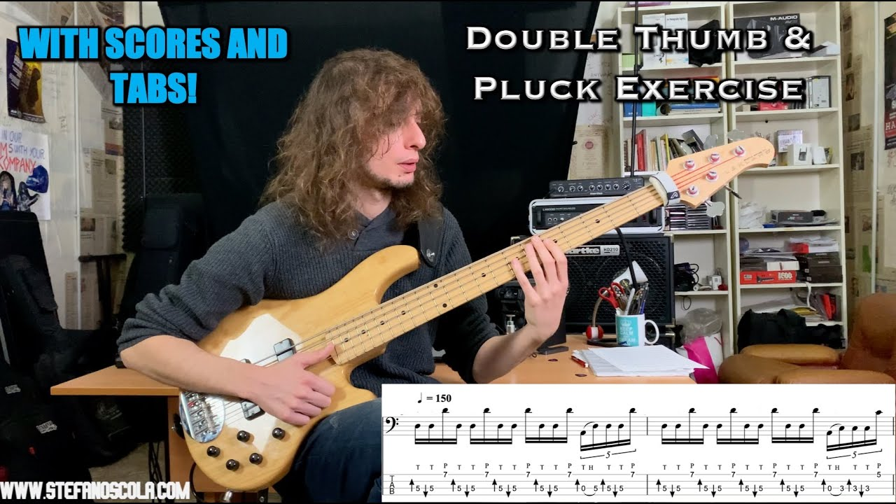 Double thumb & Pluck Exercise