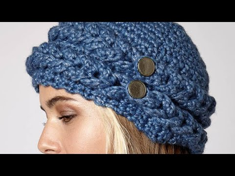 How To Crochet A Hat: Mock Cable Hat