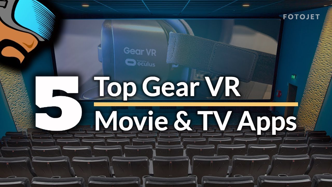 My Top 5 Gear VR & Oculus Go Movie Apps - From Cinema to TV in VR