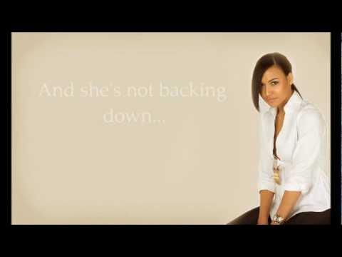 Glee Cast- Girl On Fire (With Lyrics!)