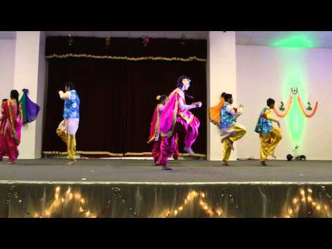 Diwali 2014 - Gujarati Samaj of Tallahassee- Middle School Performance