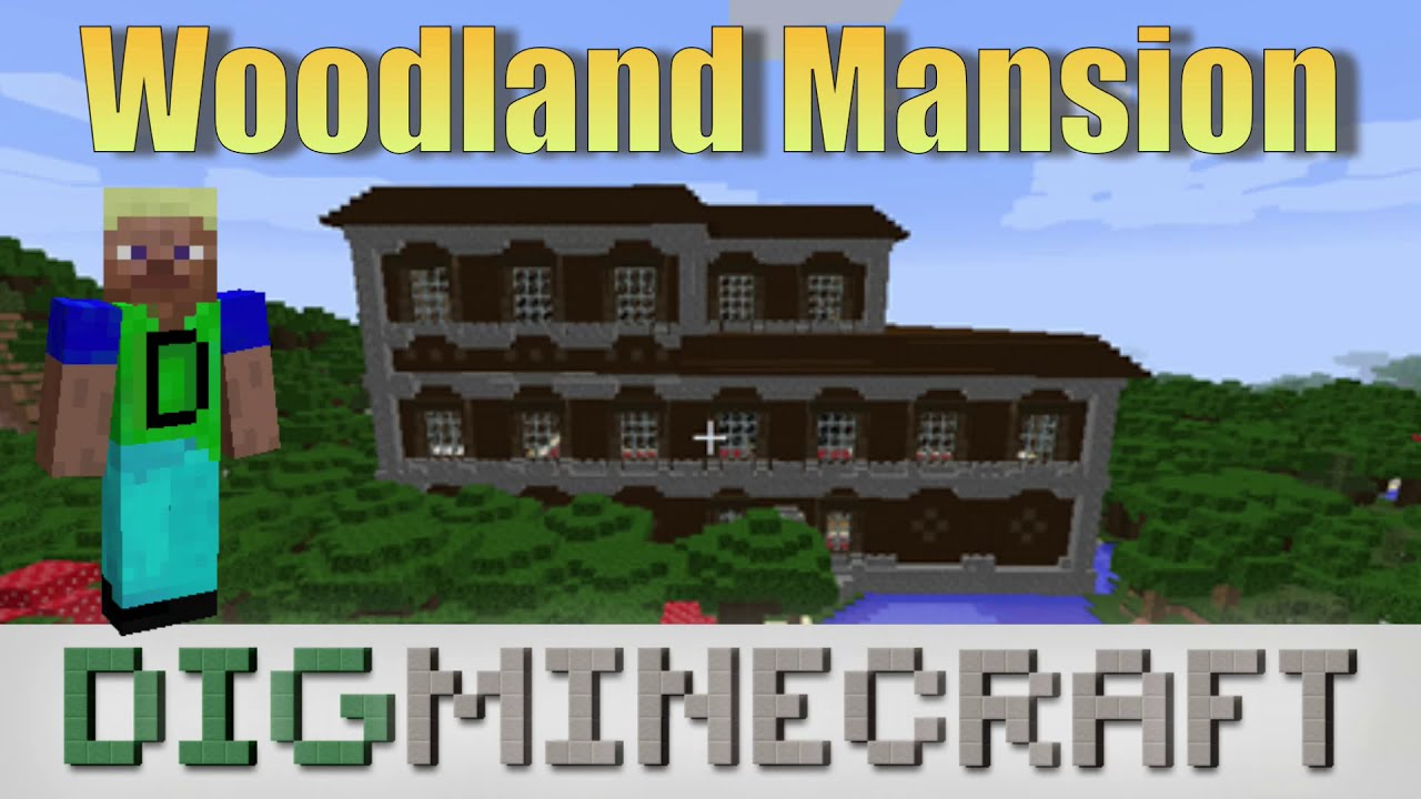 Woodland Mansion in Minecraft