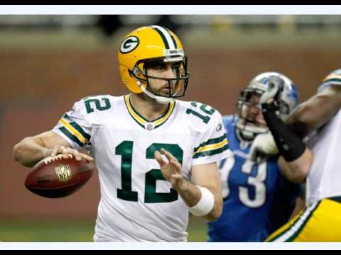 Aaron Rodgers doing his Kyle Vanden Bosch Impression 11-29-2011