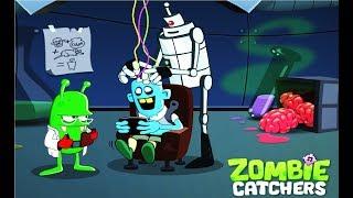 ОХОТНИКИ НА ЗОМБИ #135  Игра на андроид про ловцов зомби Zombie Catchers #Мобильные игры