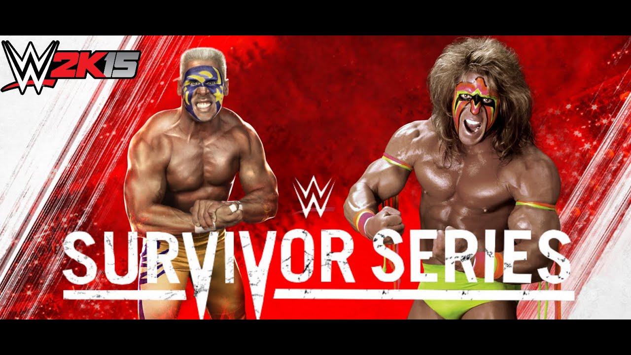 WWE 2K15 PS4 Sting vs. Ultimate Warrior - WWE 2K Next Gen ...