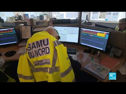 Coronavirus en France: le SAMU débordé par les appels