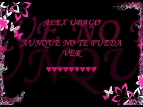 letra vuelve de alex ubago: