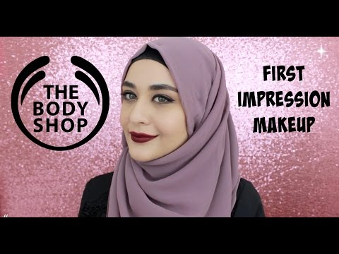 Première Impression Makeup THE BODY SHOP + Swatches | Muslim Queens by Mona