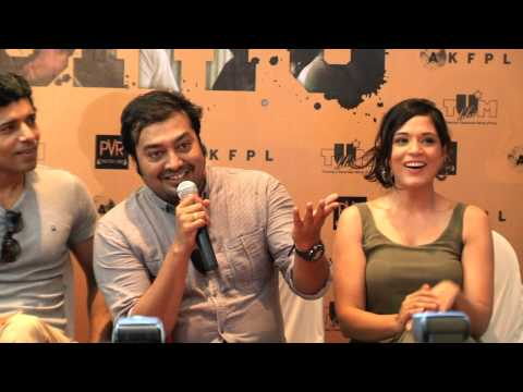 Anurag Kashyap And Team Promoting Shorts