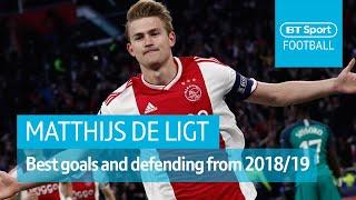 Matthijs de Ligt - Europe's most wanted | Amazing defending, goals, and leadership 2018/19