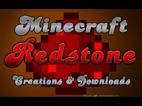 MineCraft 1.5.1 Creations, Inventions, Redstone Contraptions!
