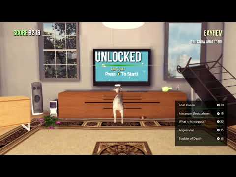 Goat Simulator 100% Walkthrough