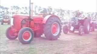 Vintage Tractor Parade Part 1, Methven, New Zealand, 17 April 2010