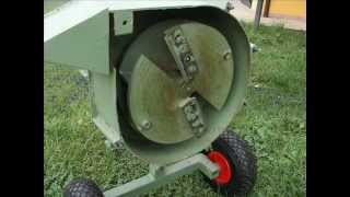 Repeat youtube video Home made mulcher - second edition