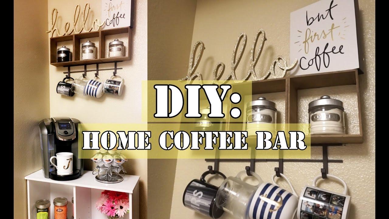 diy coffee bar under 100 including keurig cabinet. Black Bedroom Furniture Sets. Home Design Ideas