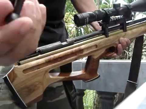 Bullpup airgun from Bohol Philippines