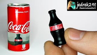 Transparent Coca Cola with a Surprise Inside / ART RESIN