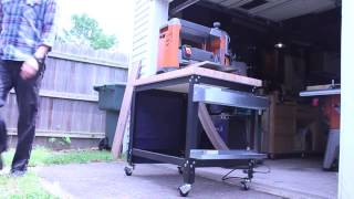 Rockler Customizable Shop Stand: Mobile Workstation (by Hosey's Workshop)