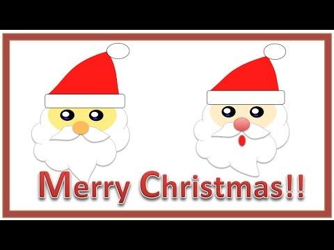 サンタさんの絵サンタクロースのイラスト作成入門 簡単クリスマス