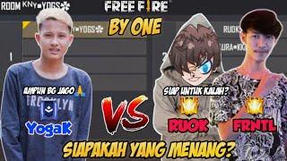 Download DI TANTANG 2 VS 1 FRONTAL GAMING & RUOK😱 AMPUN BG JAGO🙏 - FREE FIRE