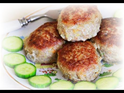 Low Fat Chicken Cutlets With Semolina & Carrot - Homemade Recipe!