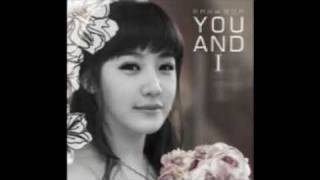 Park Bom - You and I - English Version with karaoke