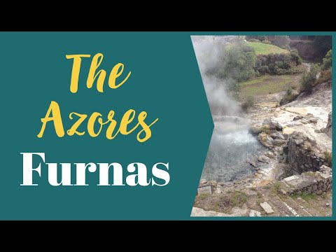 Azores Holidays - Quick Video of Geothermal Activity at Furnas on Sao Miguel