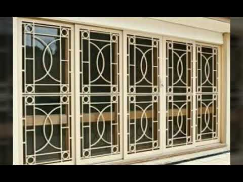 Safety Stainless Steel Window Grill Designs Youtube