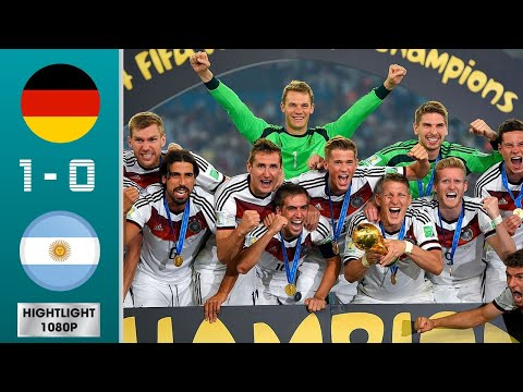 Germany vs Argentina 1-0 Highlights & Goals - 2014 World Cup Final | Classic Match HD