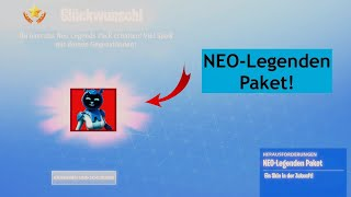 NEO - Legends Package Get! (3 free items) Update 9.20 (Fortnite)