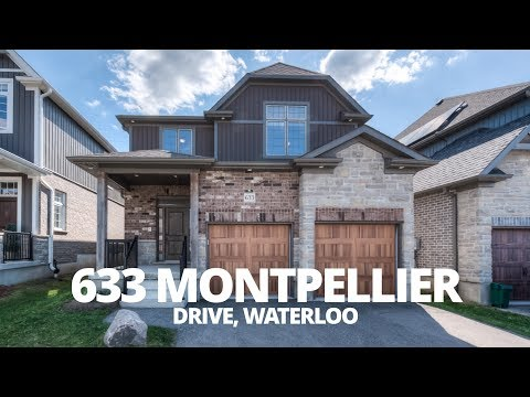 Marvellous Montpellier - 633 Montpellier Drive - Waterloo Real Estate Video