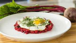 Seamus Mullens Savory Porridge with Millet and Beets