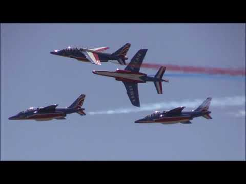 2017 Melbourne Air & Space Show - Patrouille de France