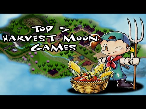 Top 5 Harvest Moon Games