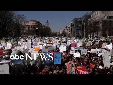 Highlights and dramatic moments from March for Our Lives