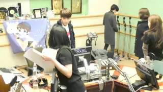 131205 Photo Taking VIXX N Super Junior Ryeowook KTR