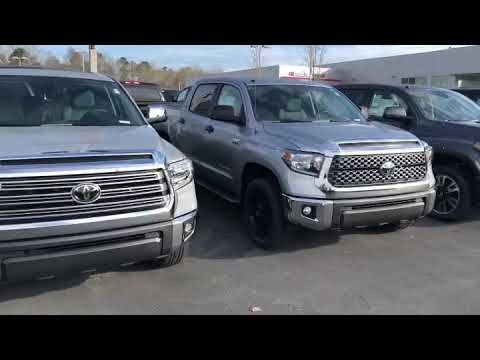 2019 Toyota Tundra Lineup From Steven