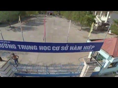 THCS Hàm Hiệp từ flycam