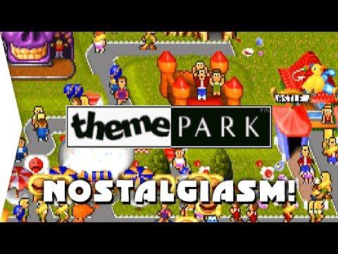 Theme Park ► Classic 1994 Bullfrog Simulation Game! - [Nostalgiasm]