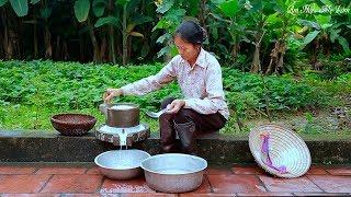 Bánh trôi nước truyền thống xem là nhớ nhà ( Rice Ball Sweet Soup ) I Ẩm Thực Mẹ Làm