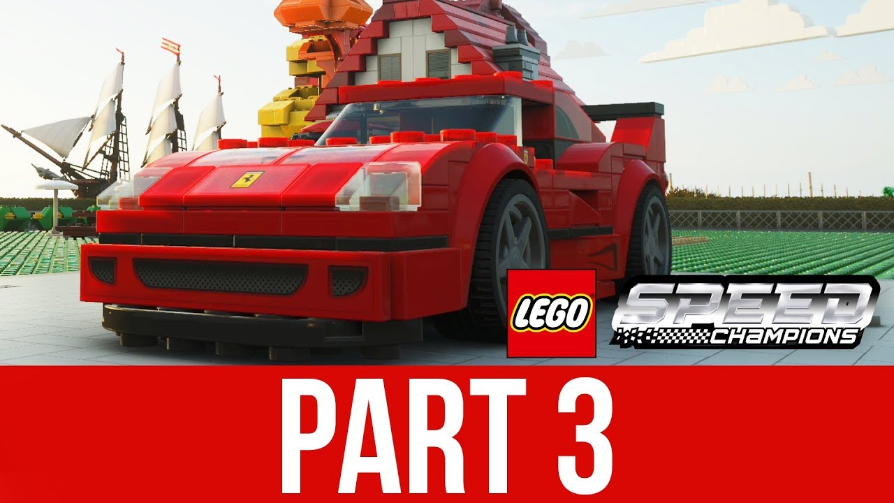 FORZA HORIZON 4 LEGO EXPANSION Lösungsweg für das Gameplay Teil 3 - FERRARI F40 ENTSPERRT + video