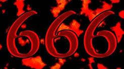 666 - Bibel: Die Offenbarung des Johannes, Offb 13,1-18