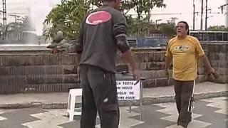 Pegadinha do João Kleber- Patins pega trouxa