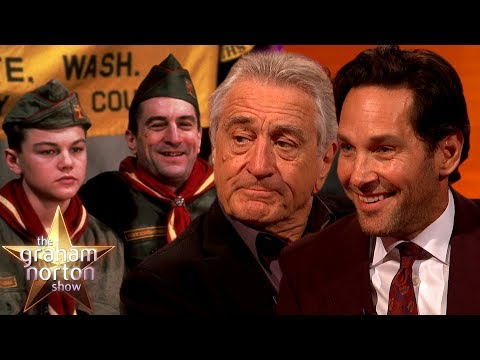 Robert De Niro & Paul Rudd Helped Shaped Leonardo Dicaprio's Career | The Graham Norton Show